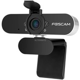 Foscam W21 webcam 2 MP 1920 x 1080 pixel USB Sort Sort/Sølv, 2 MP, 1920 x 1080 pixel, 30 fps, 1920x1080@25fps,1920x1080@30fps, 1080p, H.264