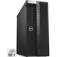 Precision 5820 DDR4-SDRAM i9-10920X Tower 10th gen Intel® Core™ i9 16 GB 512 GB SSD Windows 10 Pro Workstation Sort, Fuld PC