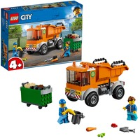 60220 City Skraldevogn, Bygge legetøj