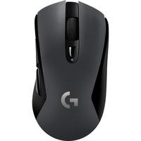G603 mus Højre hånd RF trådløs+Bluetooth Optisk 12000 dpi, Gaming mus