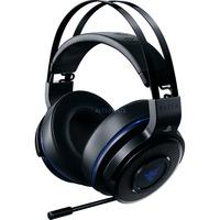 Thresher For PS4 headsæt Headset Binaural Sort, Blå, Gaming headset