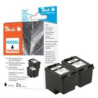 PI300-655 blækpatron 2 stk Kompatibel Sort
