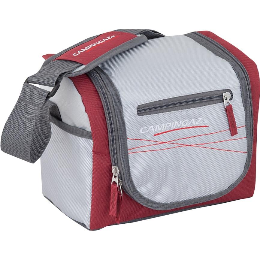 Urban Lunch Bag 7L Grå, Rød køleboks, Cooler bag