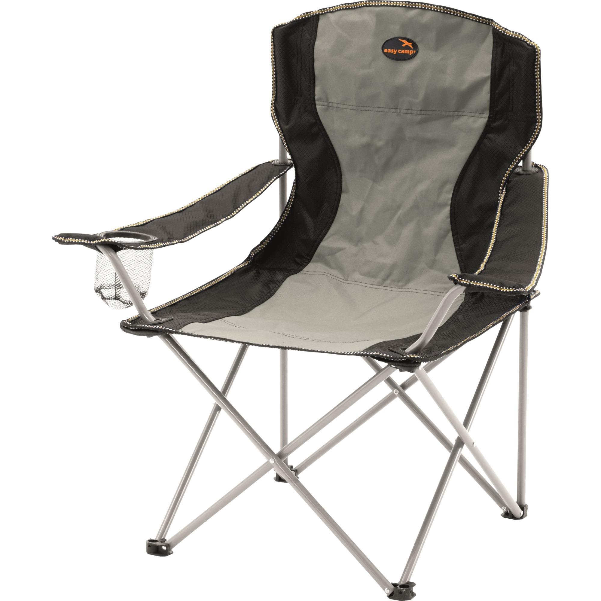 480021 Camping chair 4leg(s) Grå campingstol