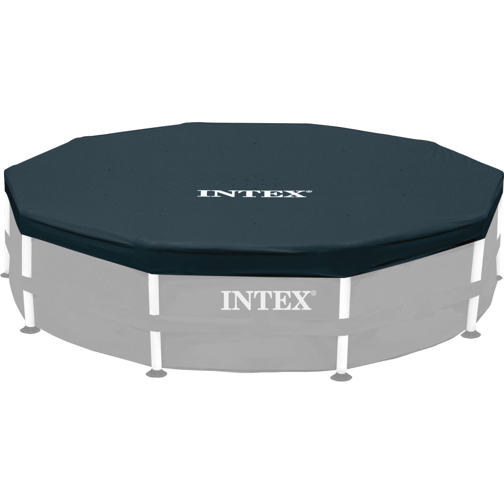 Sensationelle Intex 28031 tilbehør til pool Cover, Presenning Sort, Cover, Blå TA28