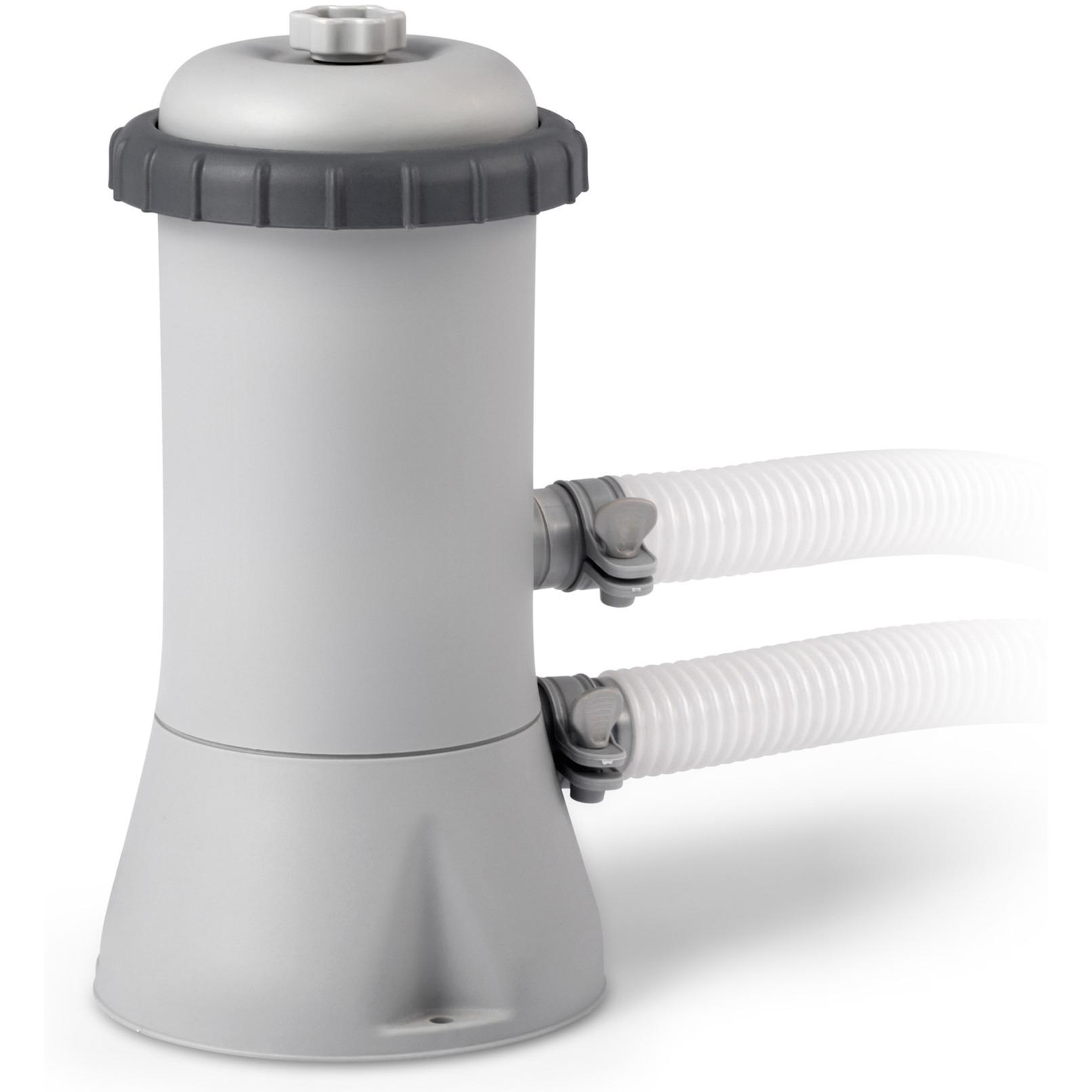 Moderne Intex 28638 tilbehør til pool, Vandfilter grå DS-36