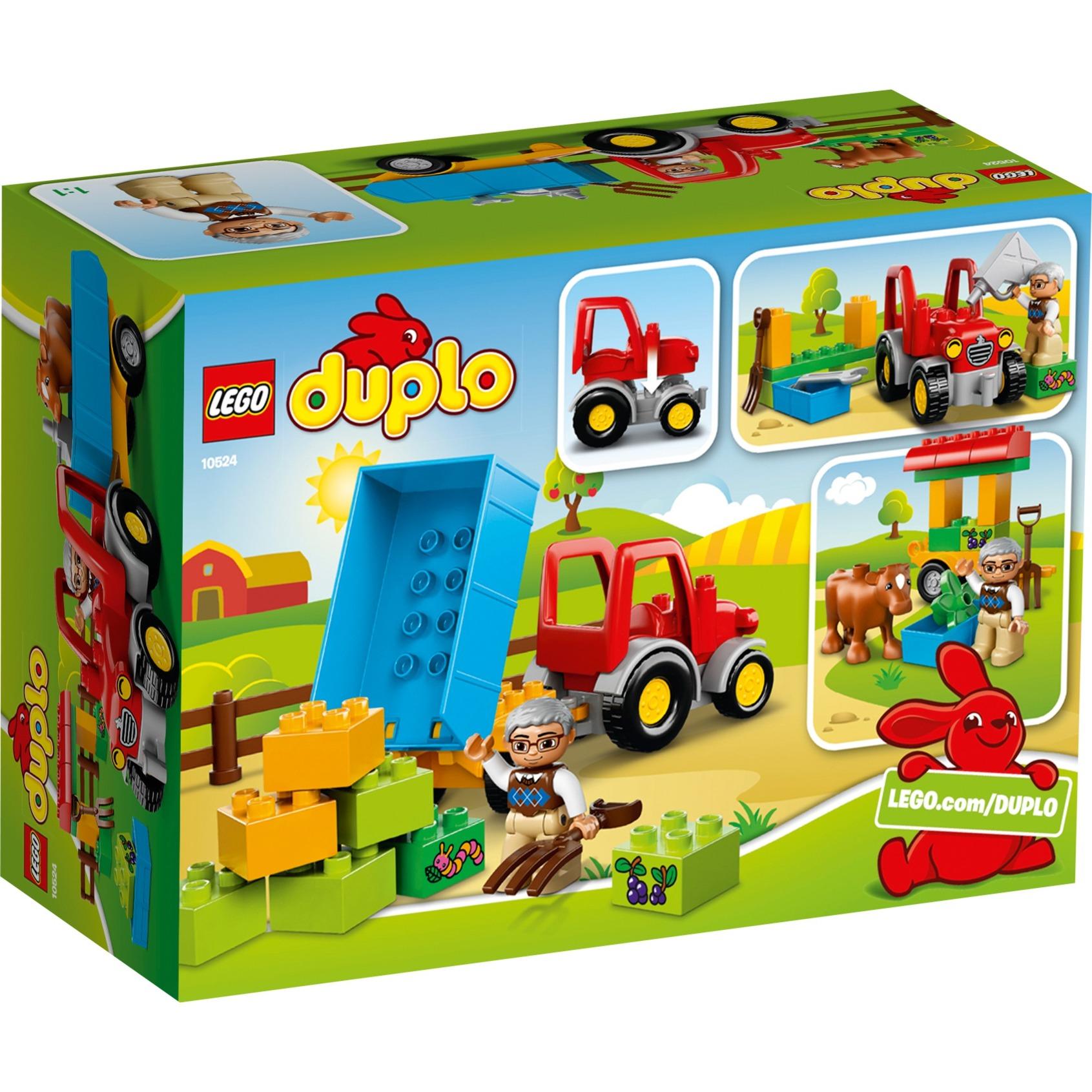 farm-tractor-bygge-legetoj