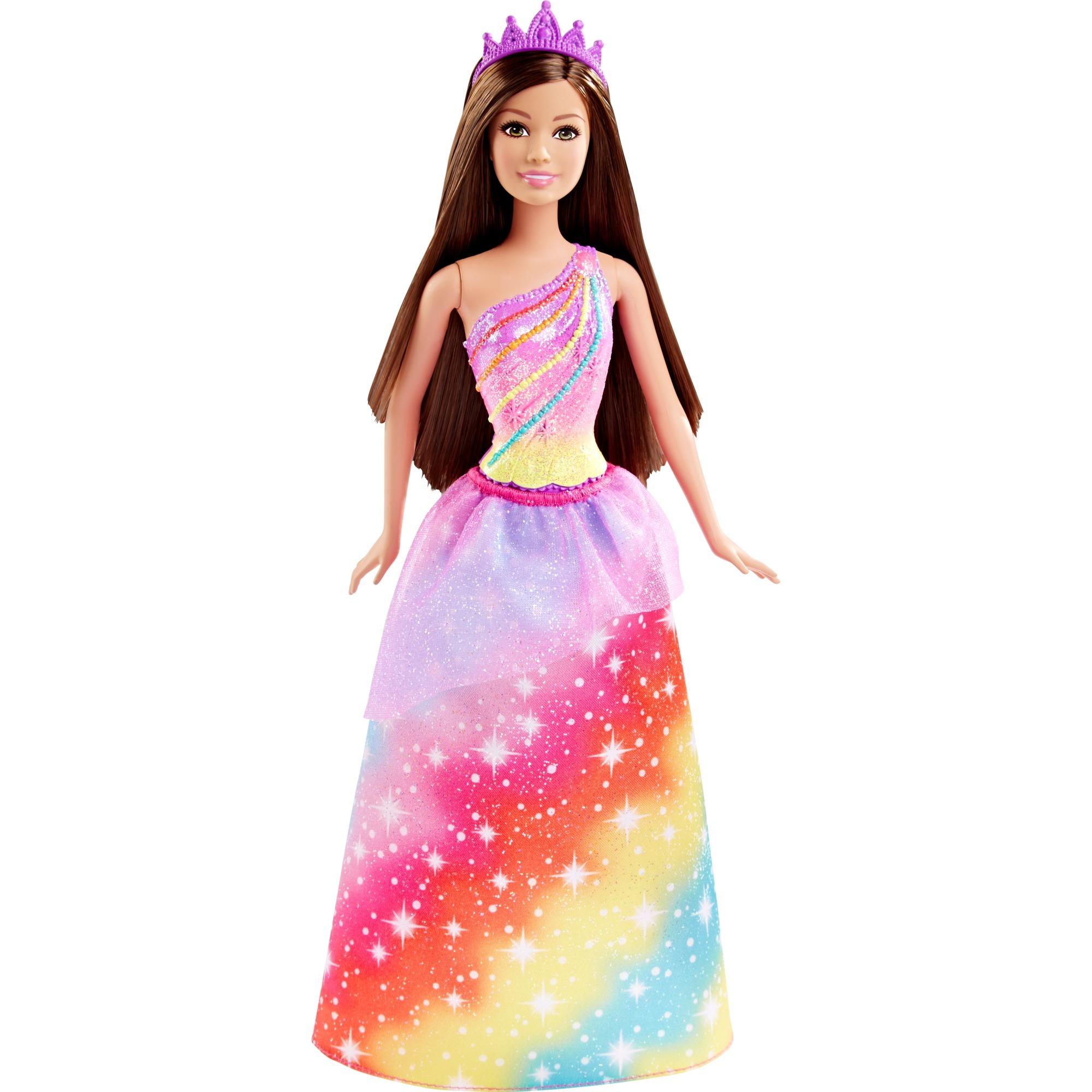 barbie-regnbue-prinsesse-dukke