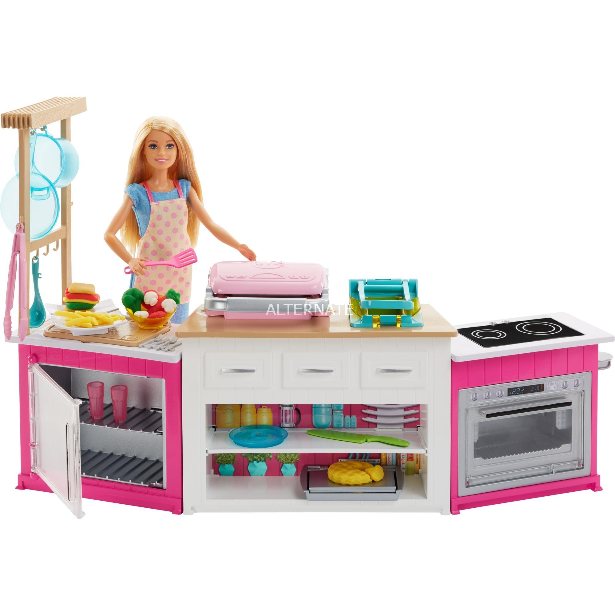 Mattel Frh73 Barbie Kokken Cooking Baking Deluxe Dukke Inkls Dukke