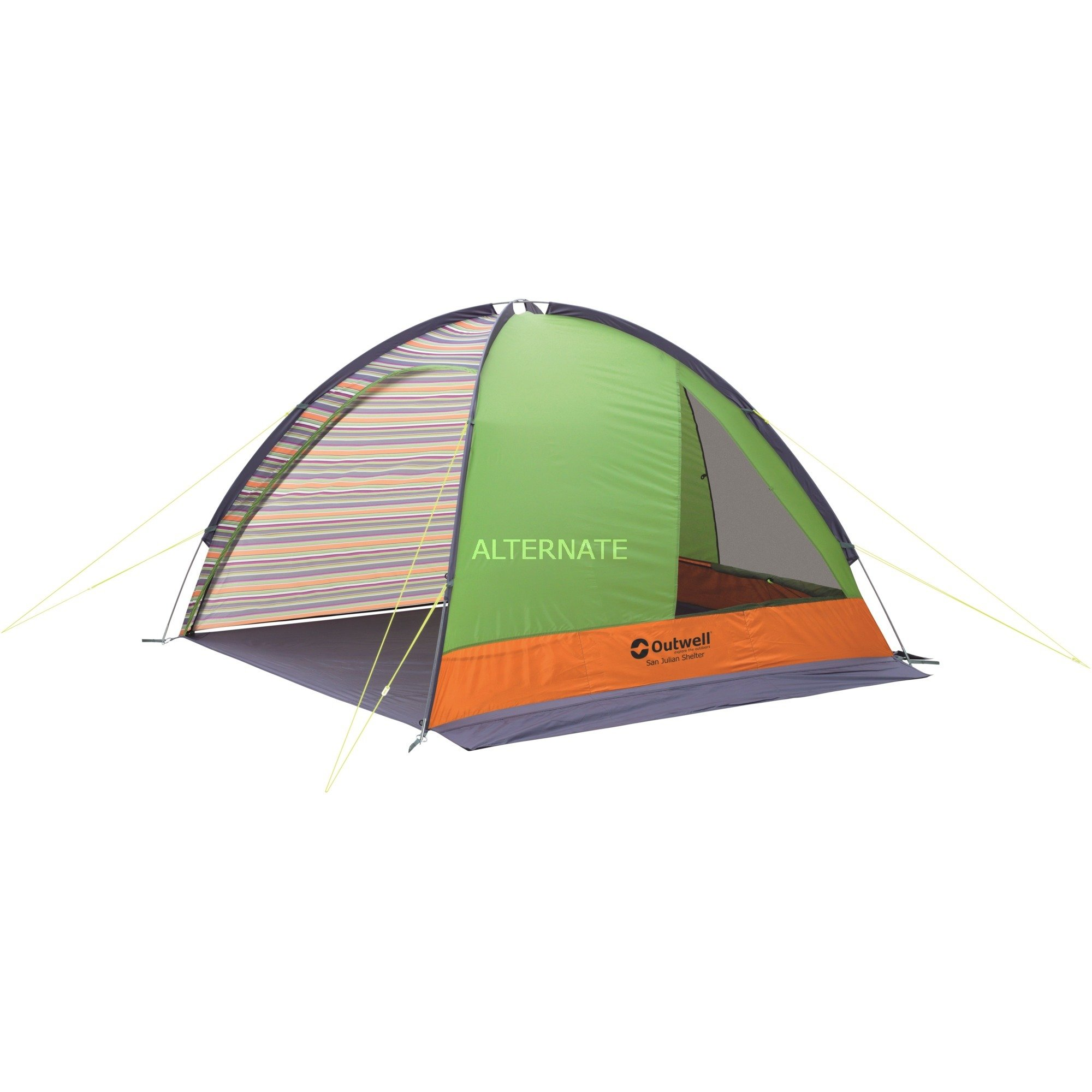 110675-gron-graa-camping-canopy-shelter-telt