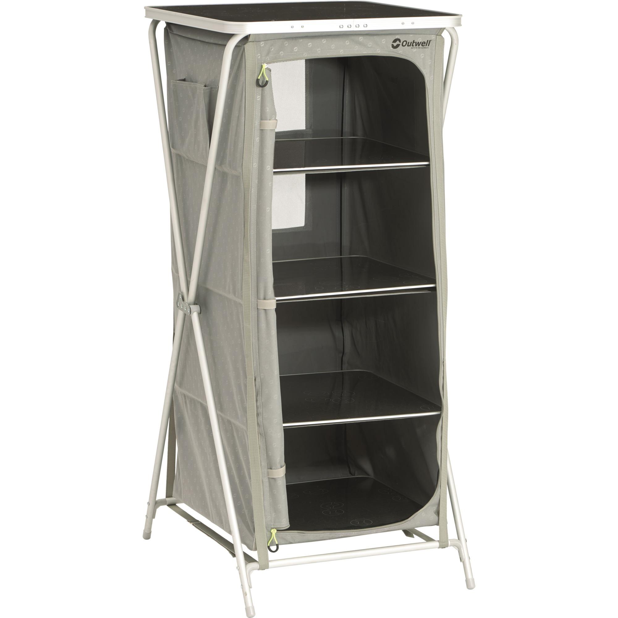 530066-4shelves-sammenfoldelig-campingskab-cabinet