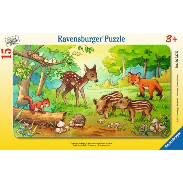 puzzle-tierkinder-des-waldes-puslespil