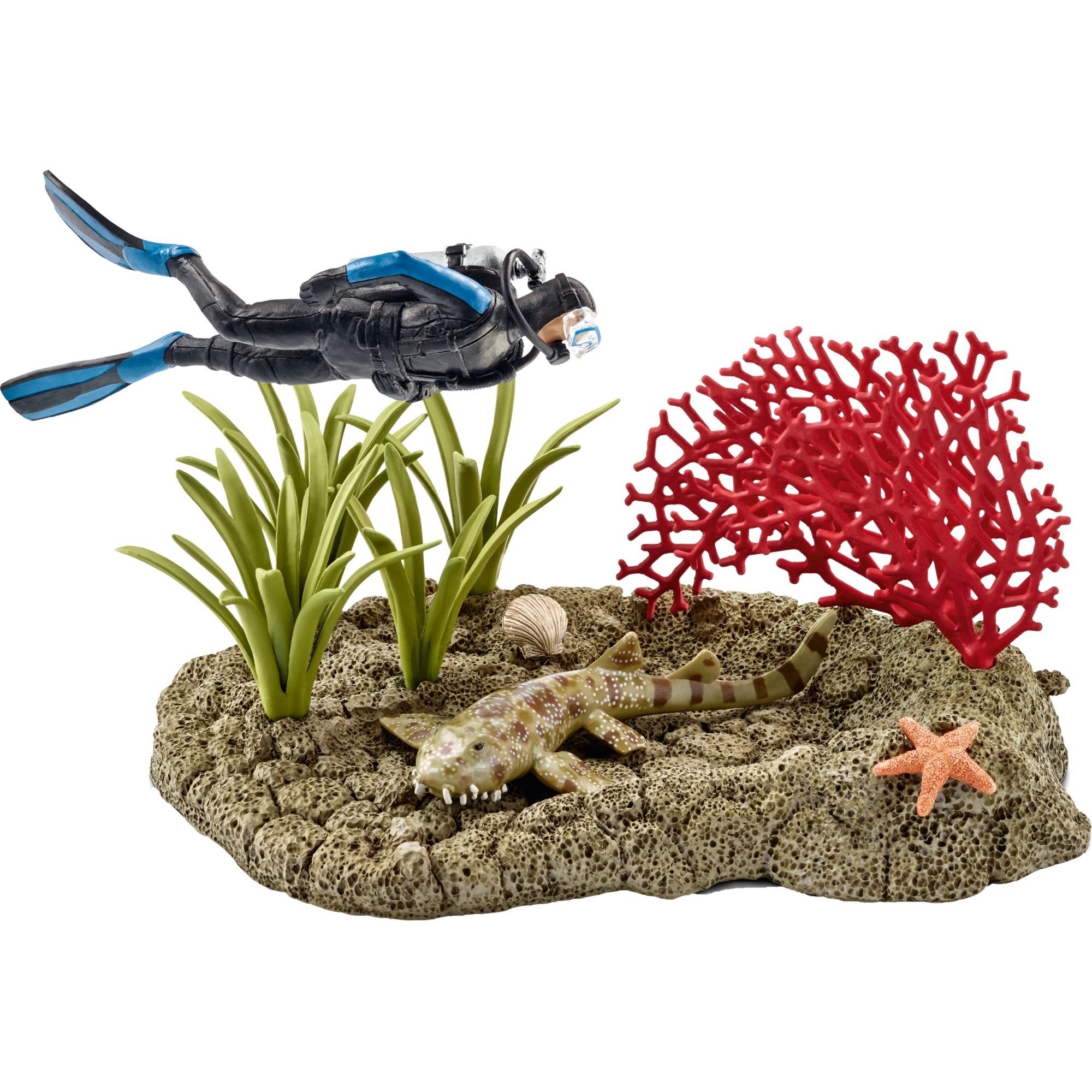 coral-reef-diver-spil-figur