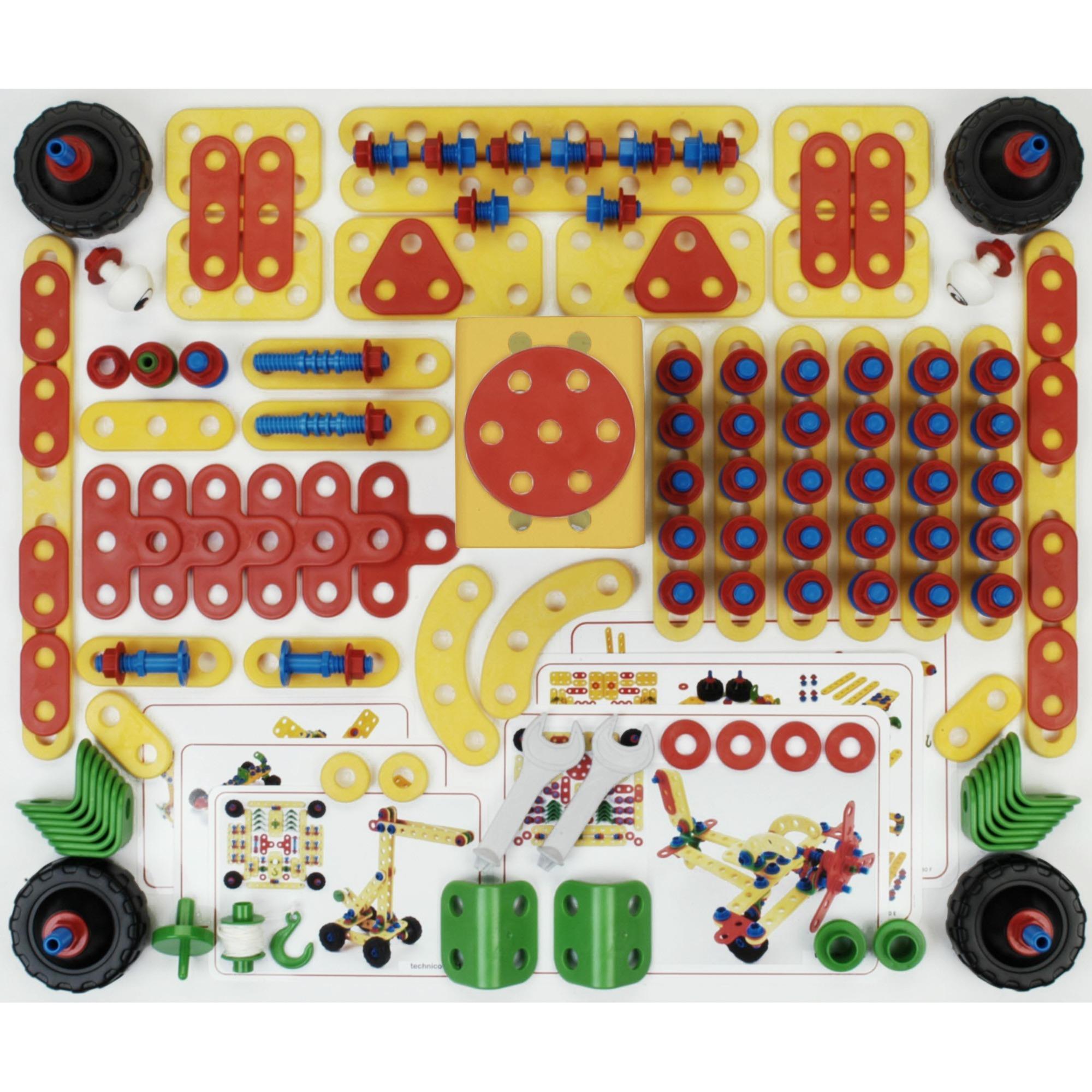 8741-vehicle-erector-set-187stykker-erectorsat-bygge-legetoj