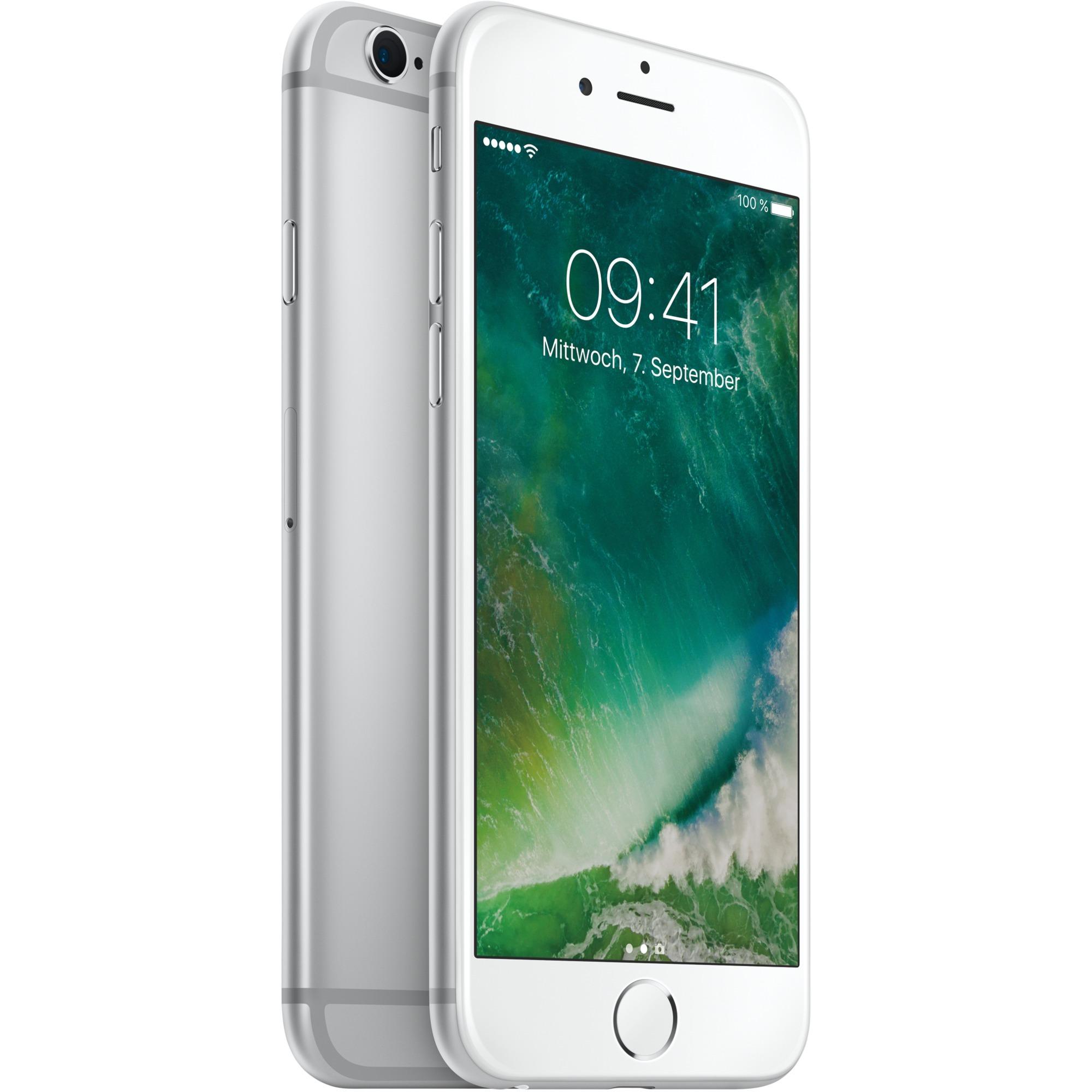 iPhone 6s Single SIM 4G 128GB Sølv, Mobiltelefon