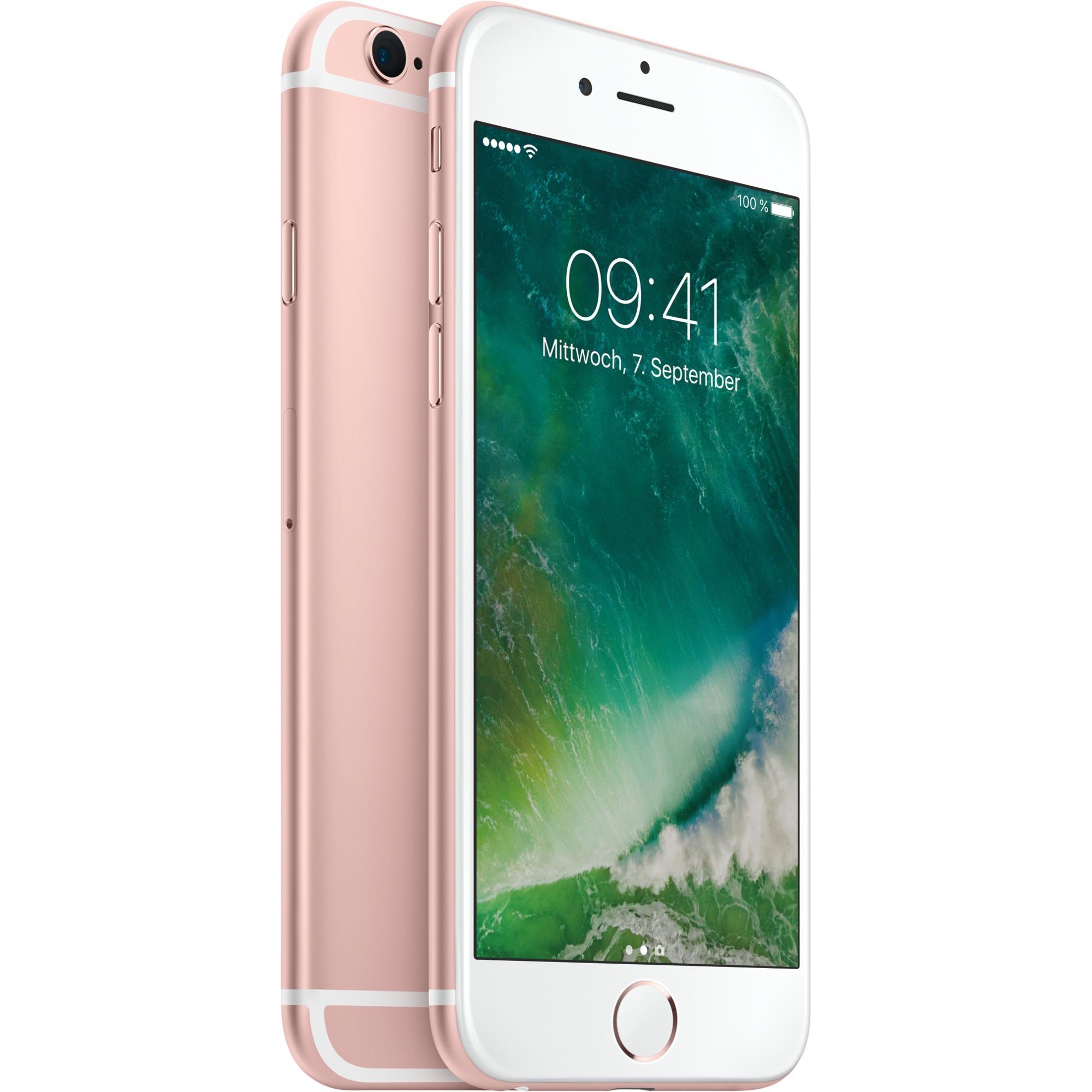 iPhone 6s Single SIM 4G 32GB Lyserød guld, Mobiltelefon