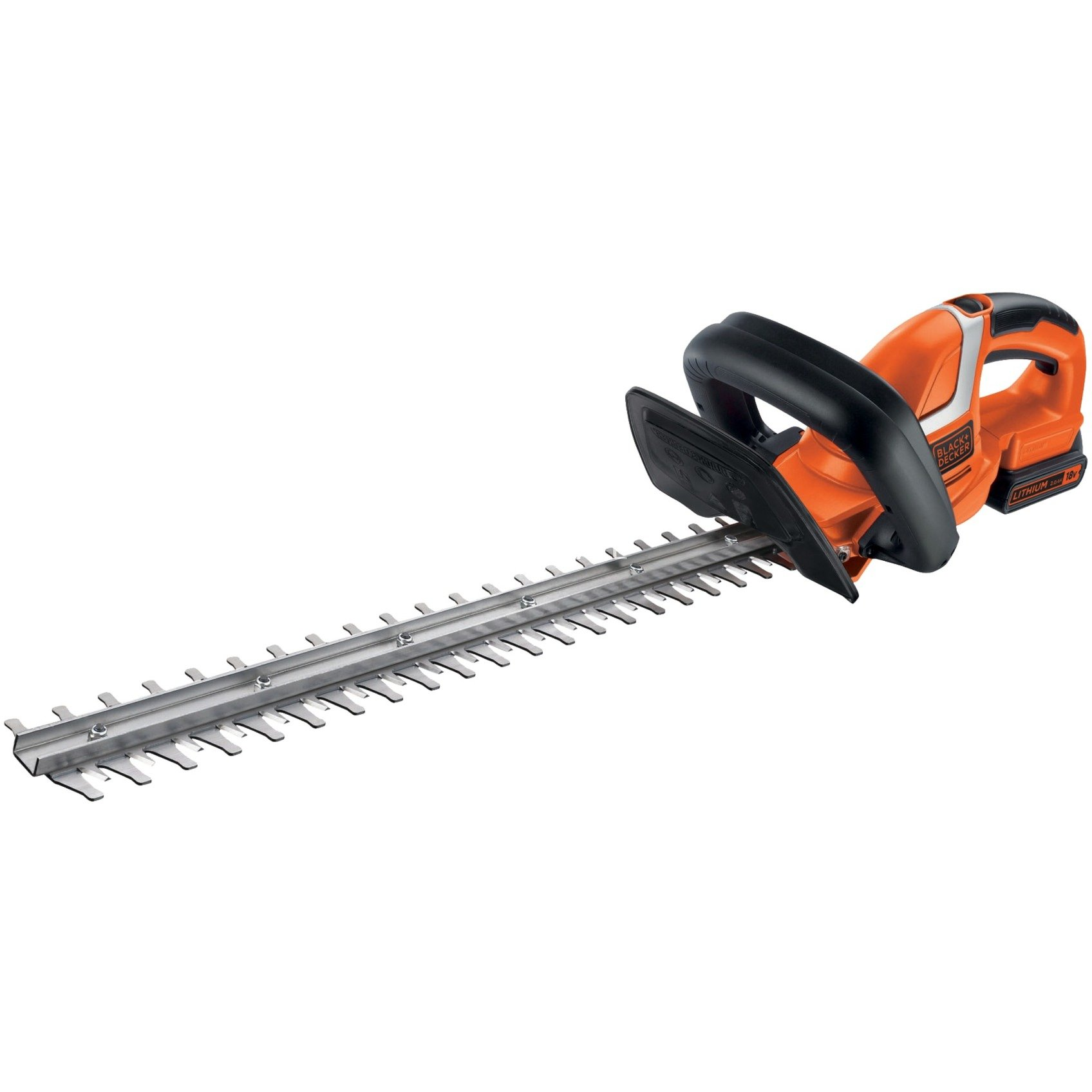 Smart BLACK+DECKER Hækkeklipper, 18V Li-Ion - GTC1845L20-QW Orange/Sort UK31