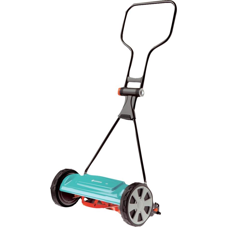 Mega GARDENA 04018-20 manuel græsslåmaskine 40 cm, Håndskubber LO54