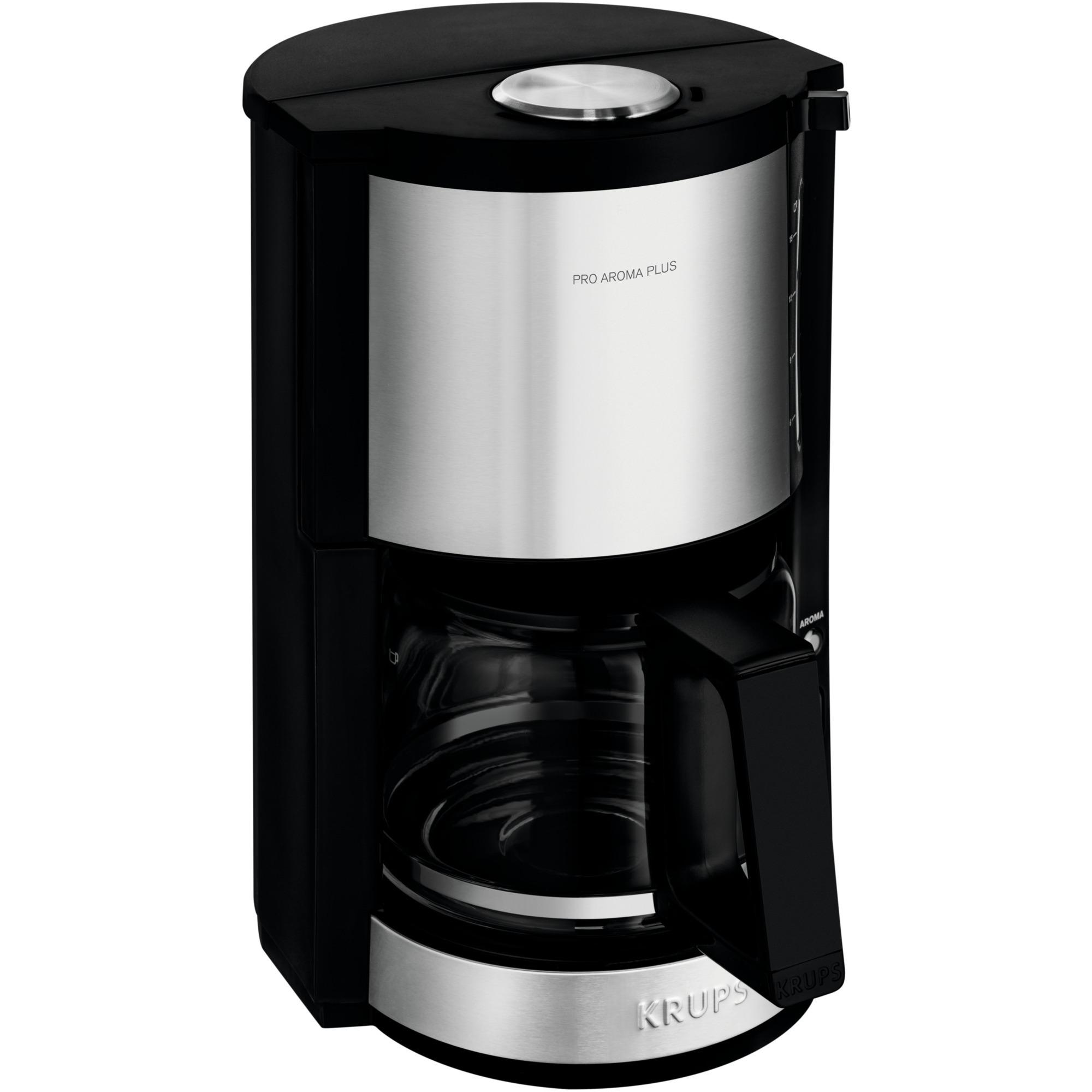 Frisk Krups ProAroma Plus Bordplade Dråbe kaffemaskine 1,25 L, Filter IL-53