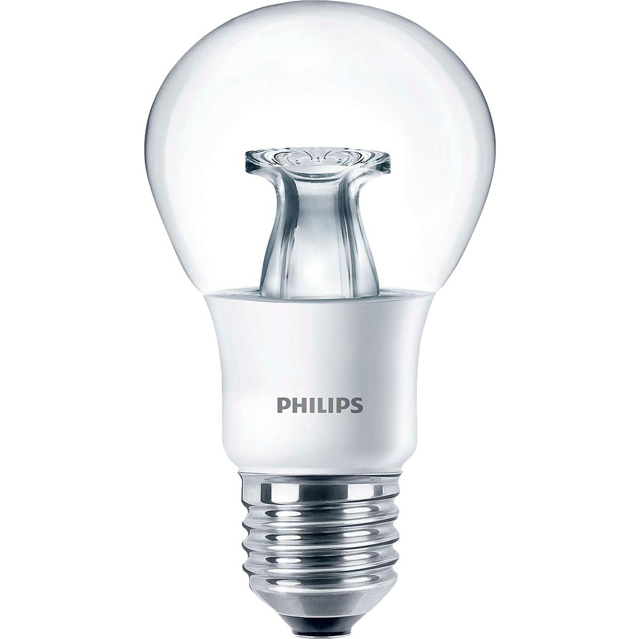 master-led-dt-6-40w-e27-a60-cl-60w-e27-a-hvid-led-lampe