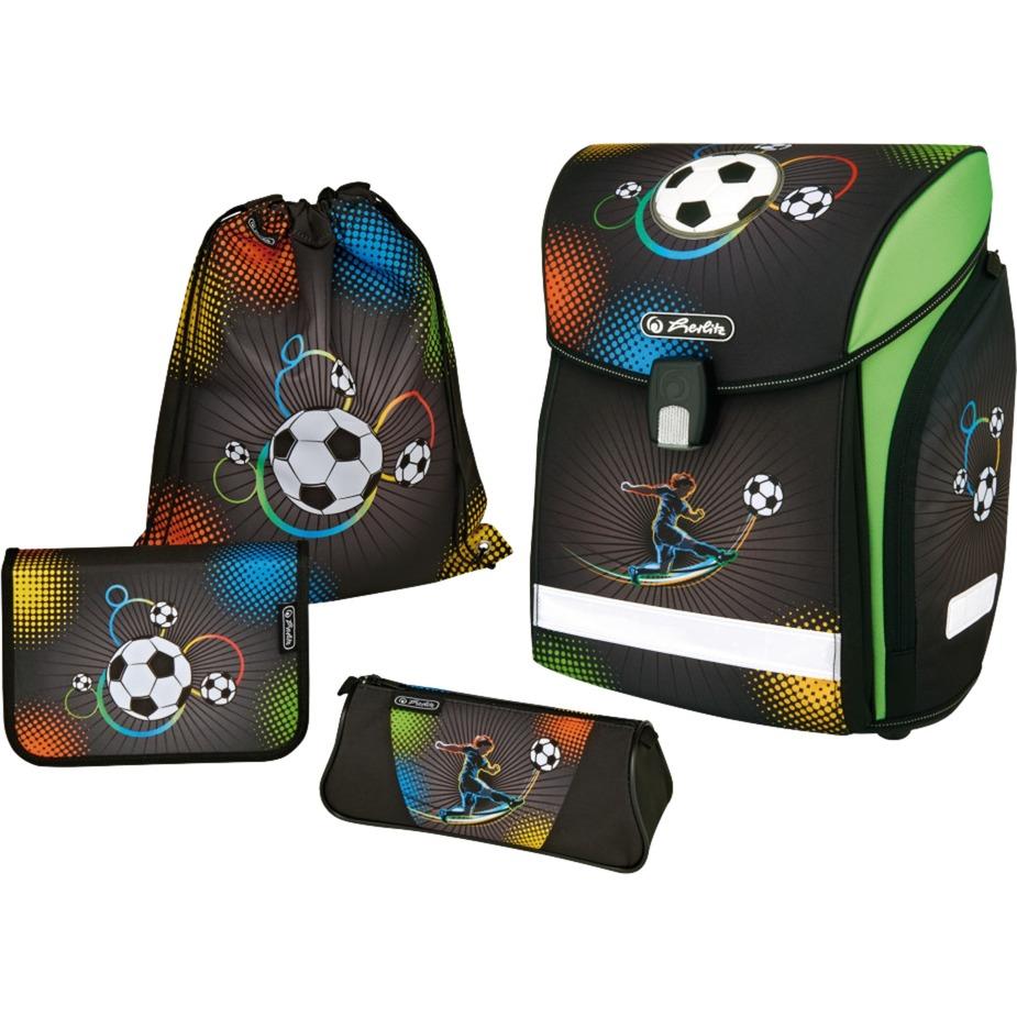 midi-plus-soccer-dreng-polyester-flerfarvet-skoletaskesat-skoletasker