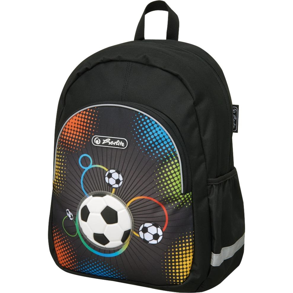 soccer-dreng-school-backpack-polyester-flerfarvet-rygsak