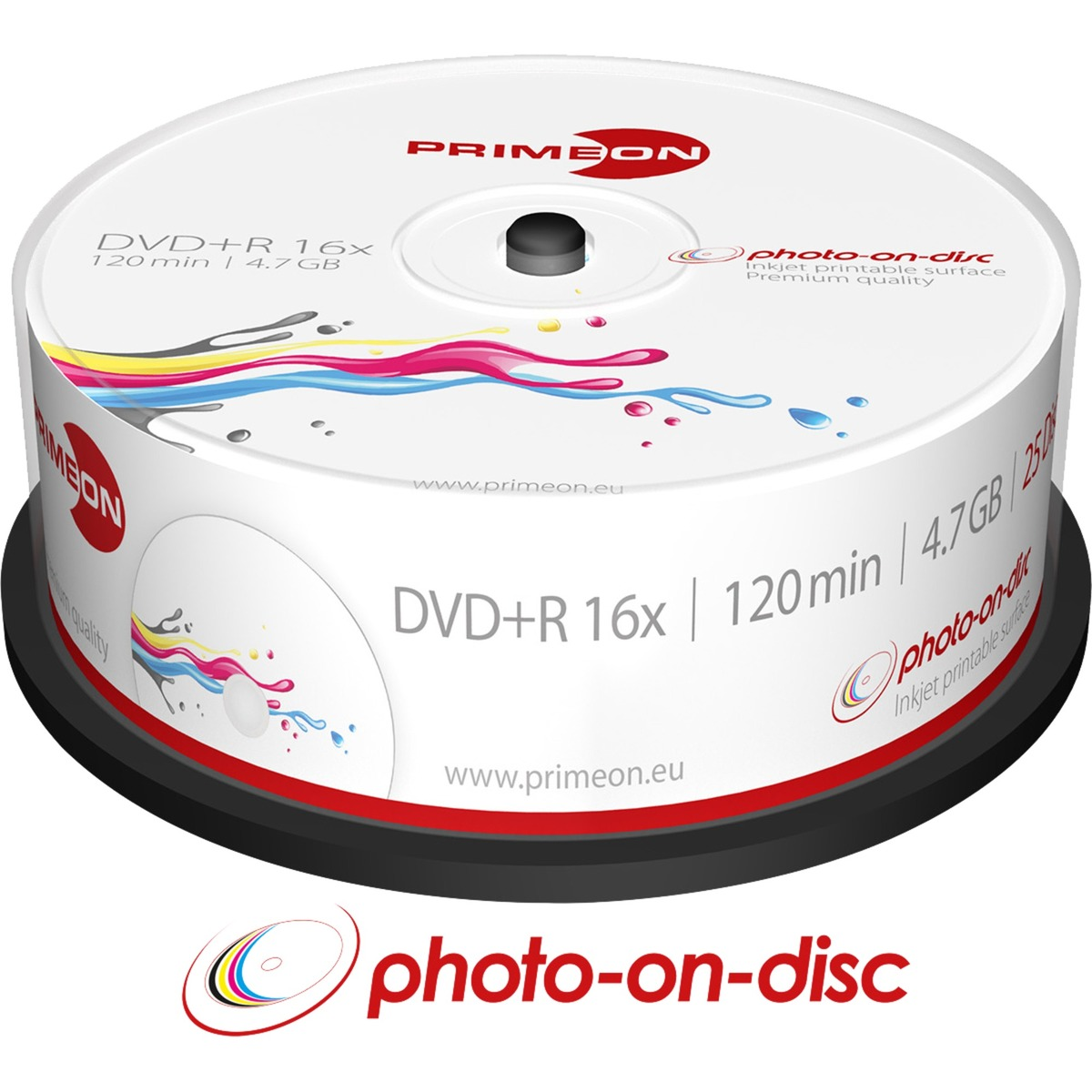 2761225-47gb-dvdr-25pcs-tom-dvd-dvd-tomme-medier