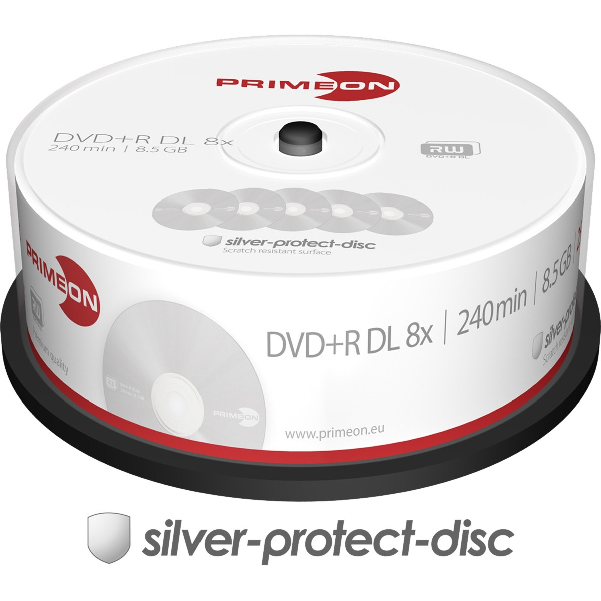2761251-85gb-dvdr-dl-25pcs-tom-dvd-dvd-tomme-medier