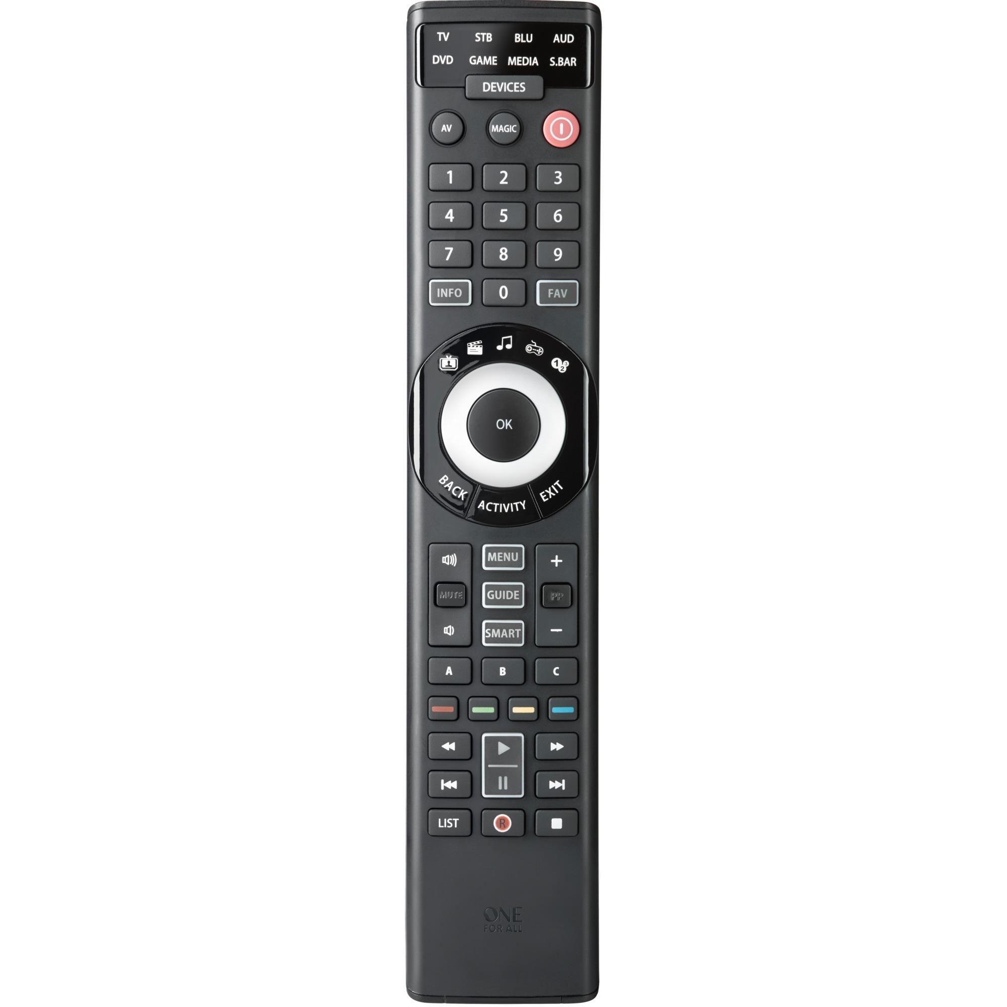 urc-7980-rf-traadlost-tryk-paa-knapper-sort-fjernbetjening-fjernbetjeningen