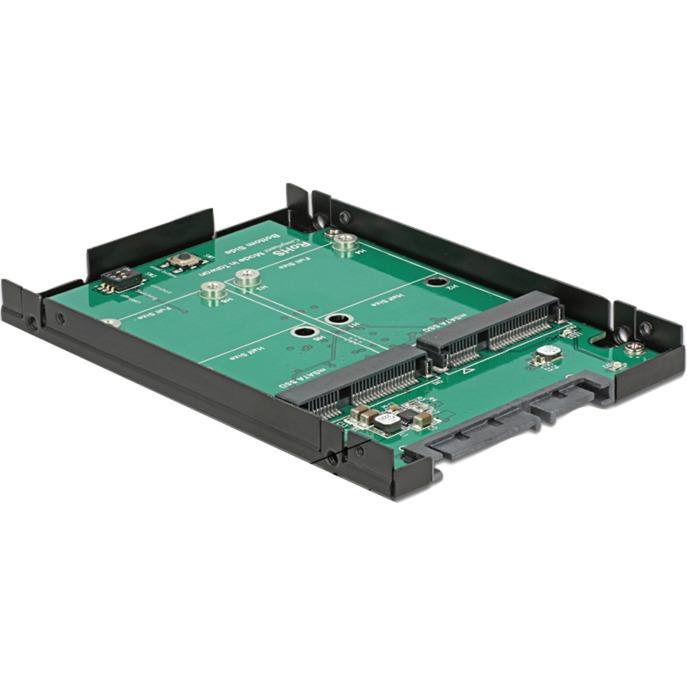 62594-ssd-enclosure-sort-gron-lagerafskarming-adapter