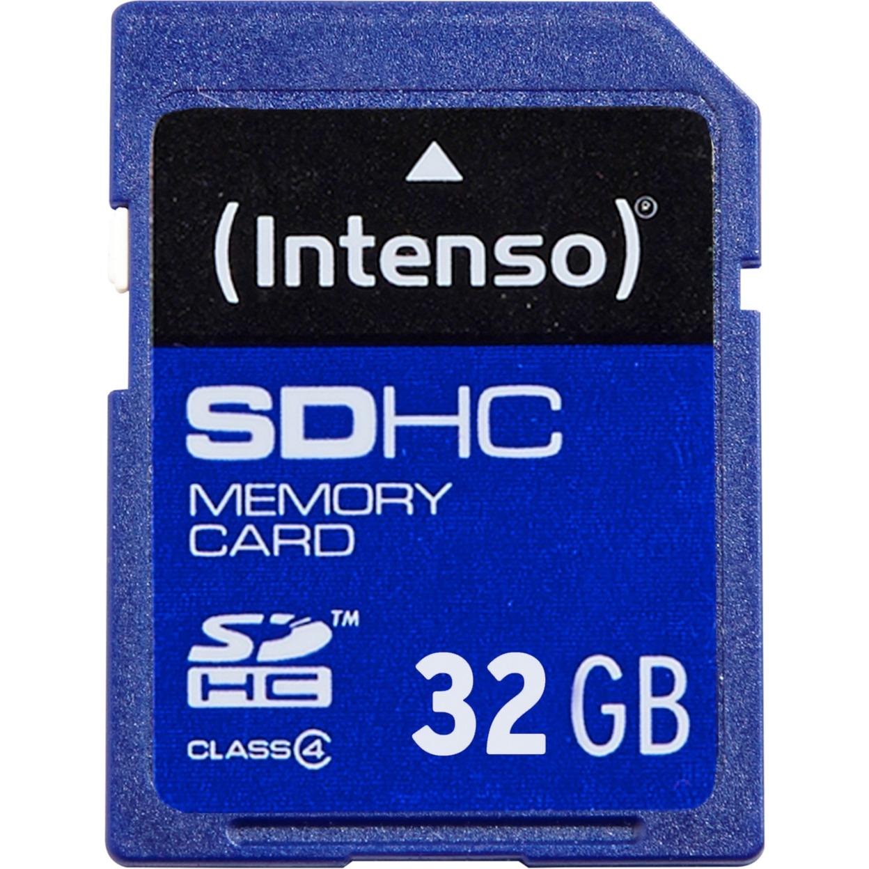 32gb-sdhc-class-4-32gb-sdhc-klasse-4-flash-hukommelse-hukommelseskort