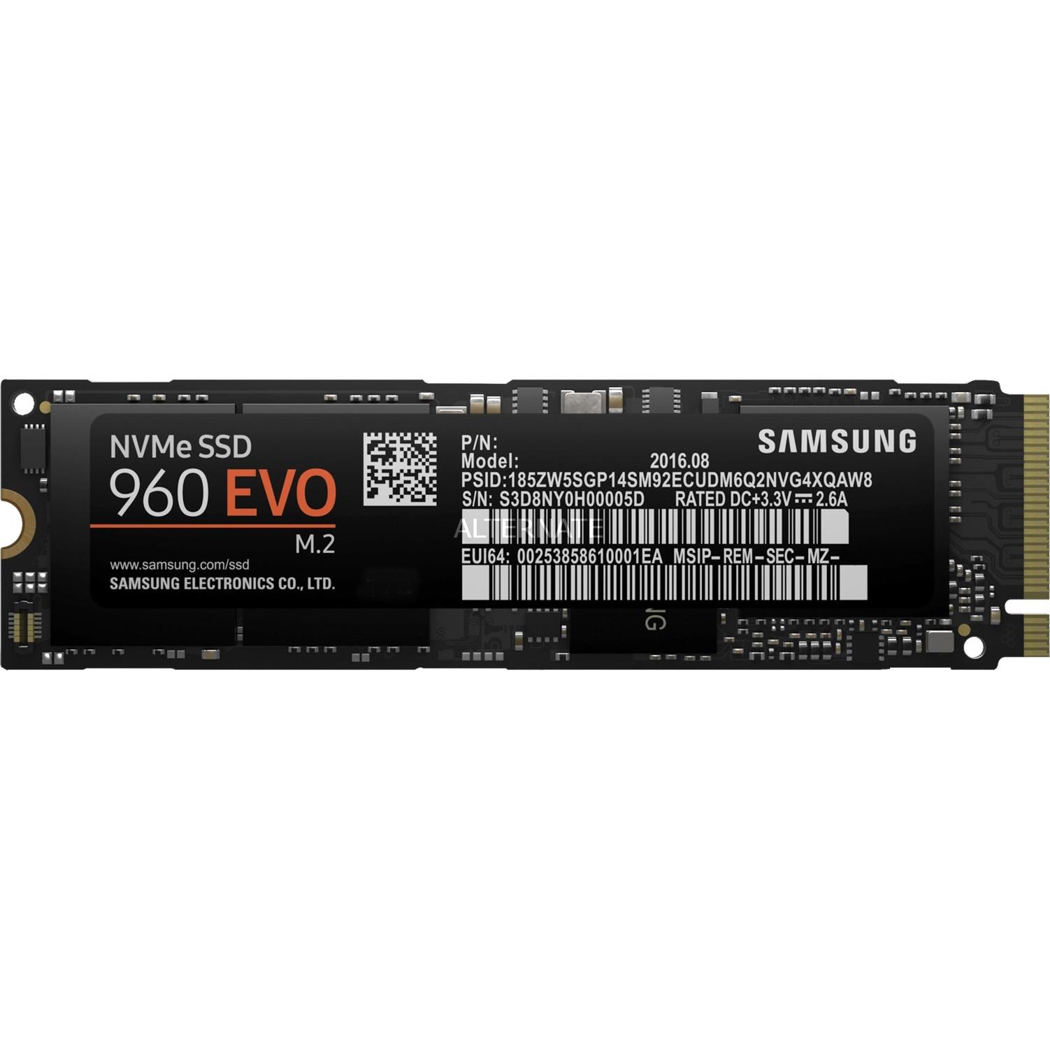 960-evo-nvme-m2-500gb-pci-express-solid-state-drev