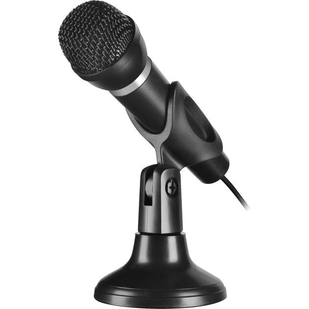 capo-karaoke-microphone-kabel-sort-mikrofon
