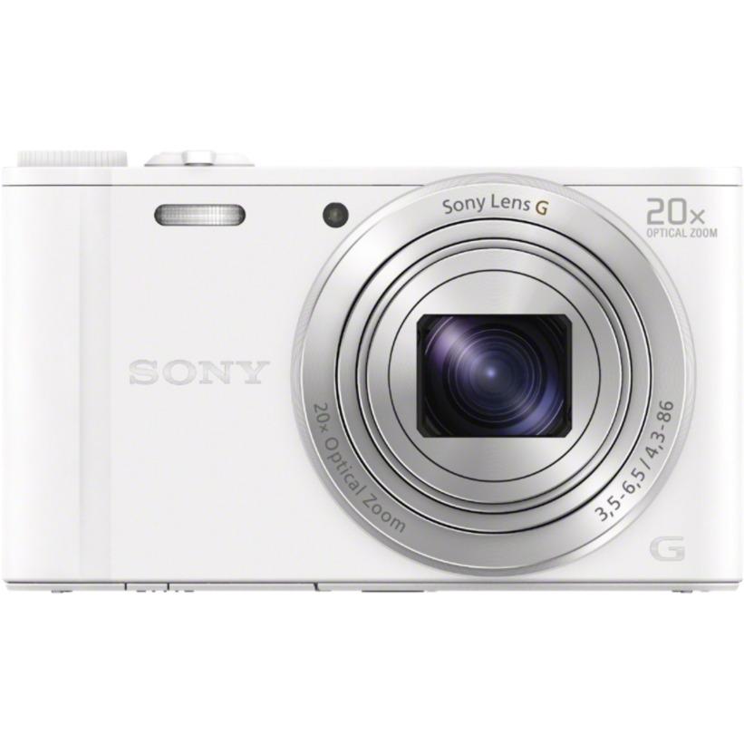 cyber-shot-dsc-wx350-kompakt-kamera-182mp-123-cmos-4896-3264pixel-hvid-digital-kamera