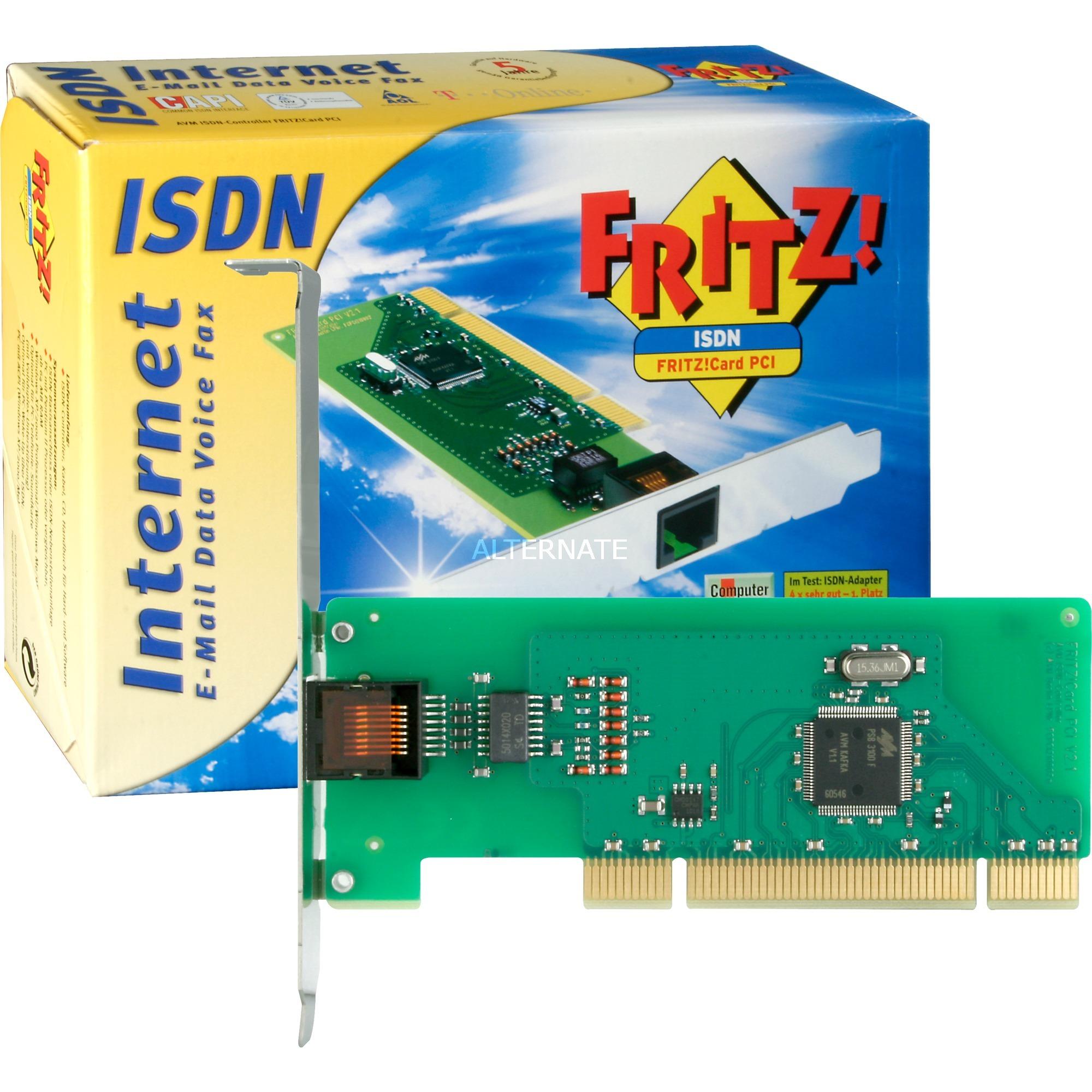 fritzcard-pci-v21-modem