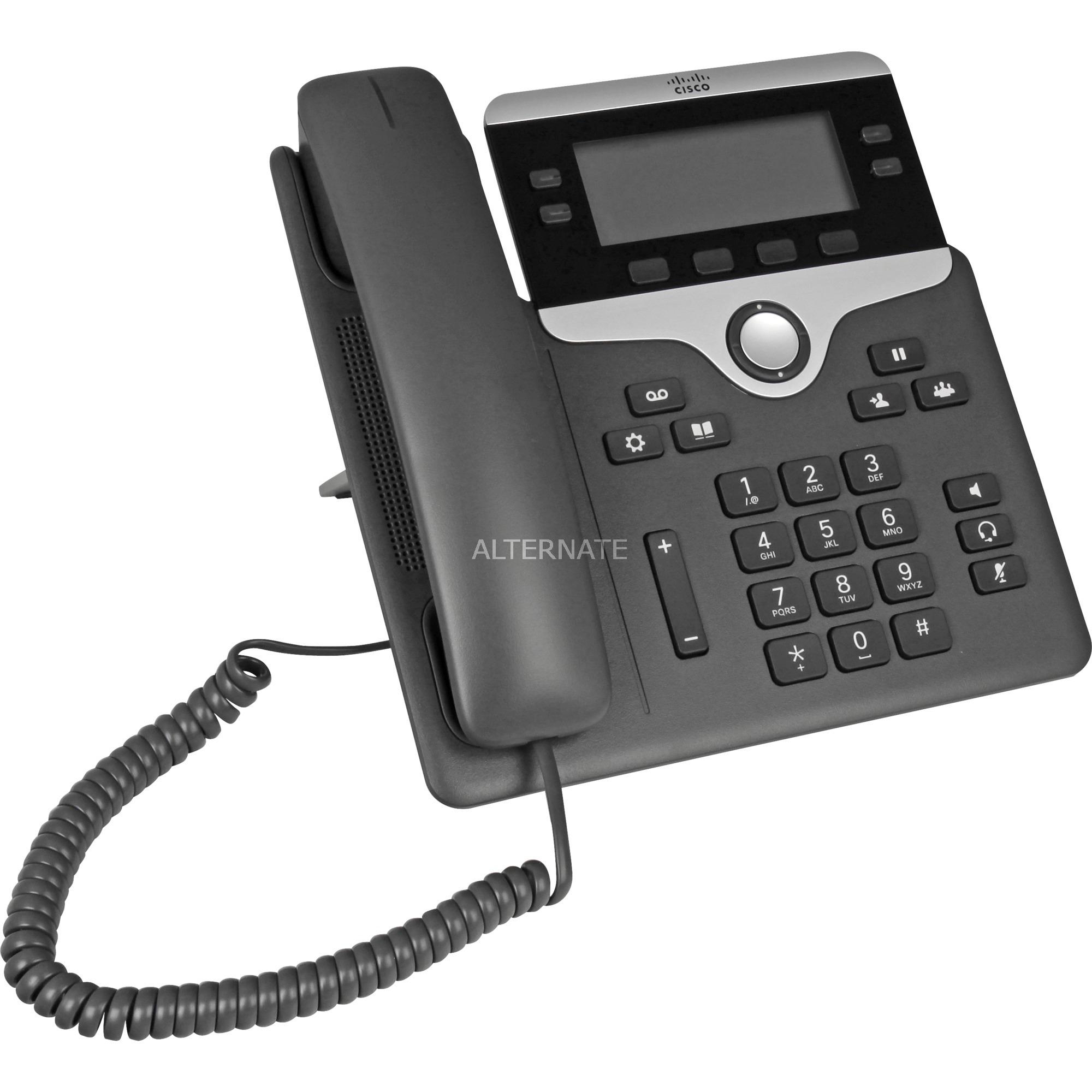 7841-forbundet-haandsat-4linier-lcd-sort-solv-ip-telefon-voip-telefon