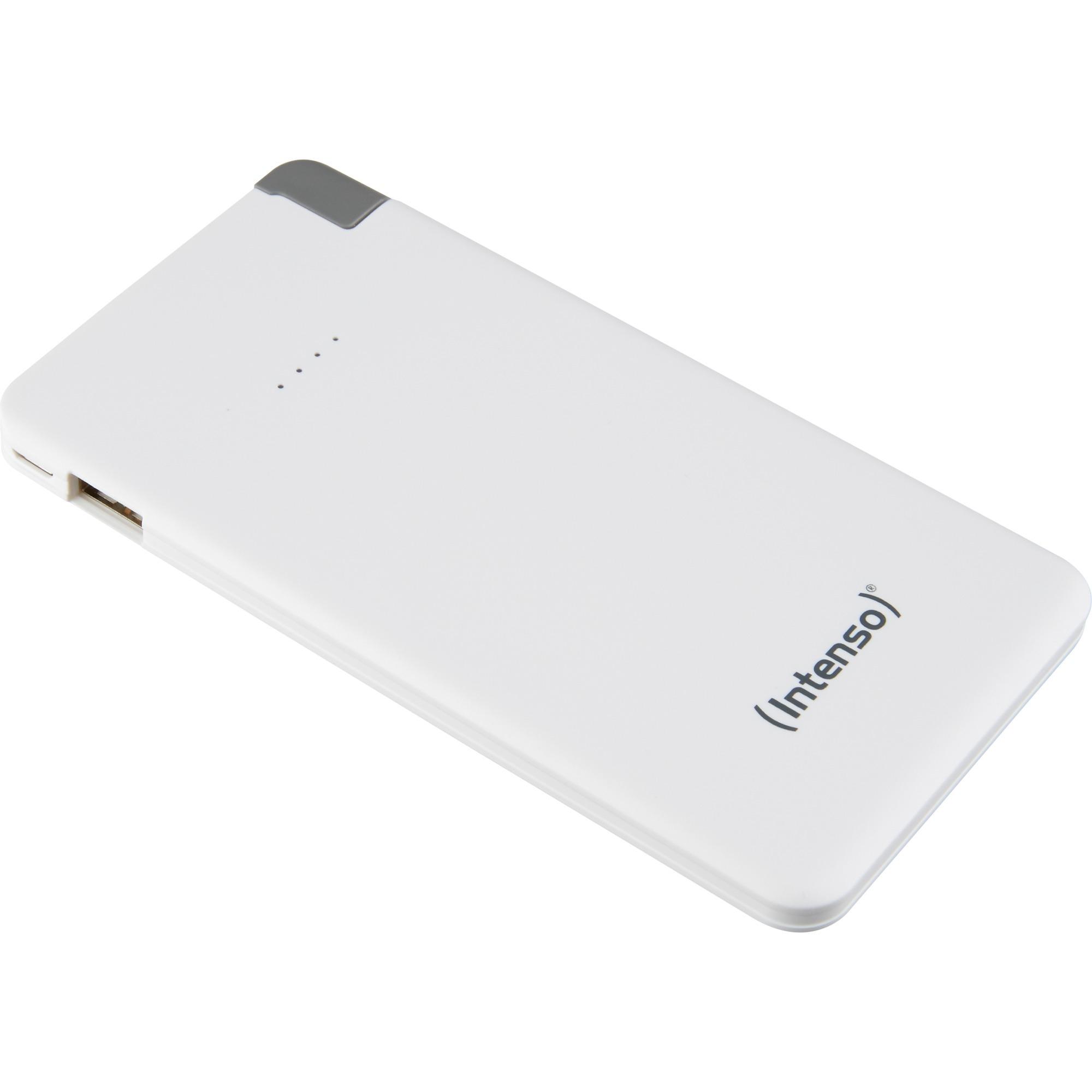 S5000 Lithium Polymer (LiPo) 5000mAh Hvid oplader til genopladelig batteri, Power Bank