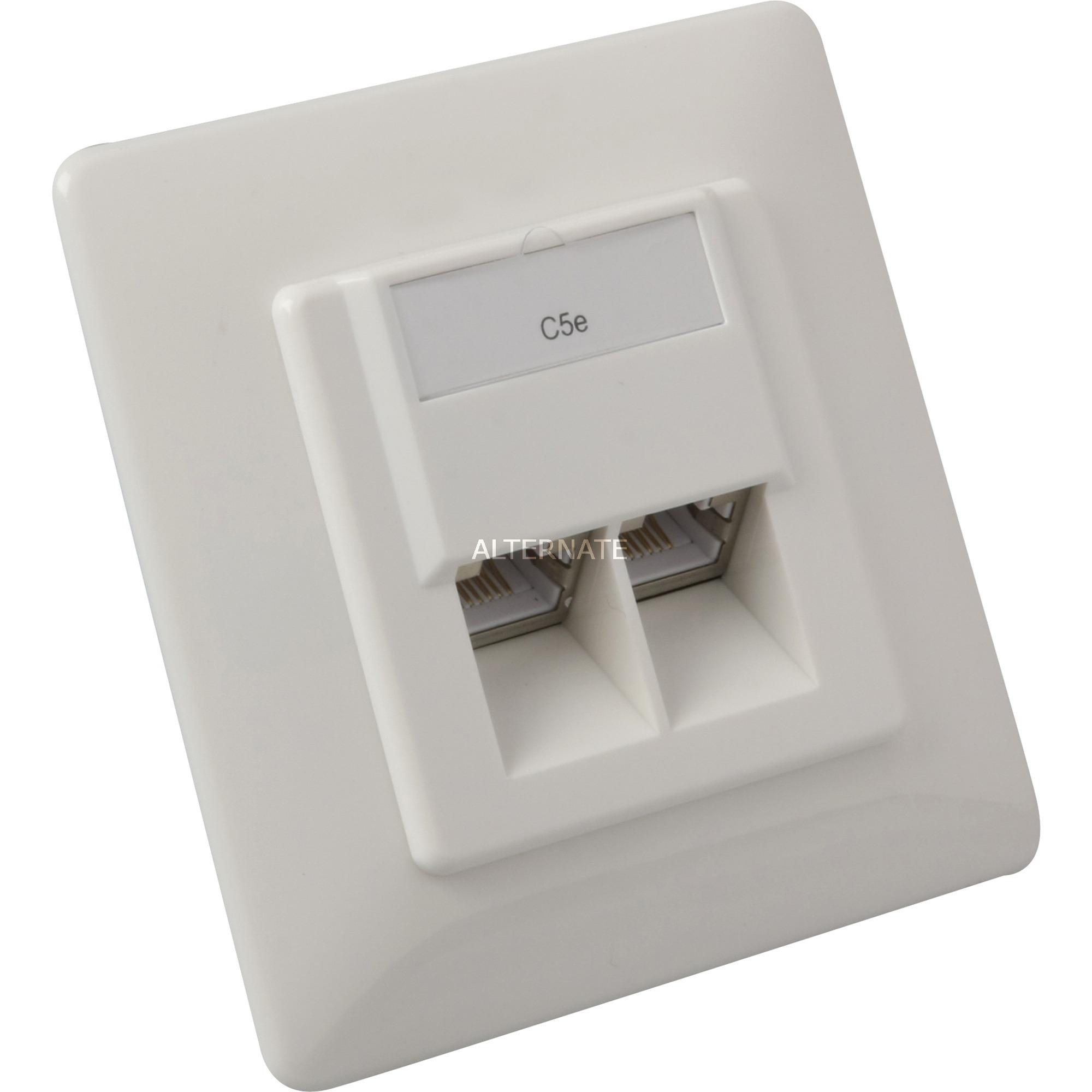 modular-wall-outlet-cat5e-rj-45-kabelsamler-boks