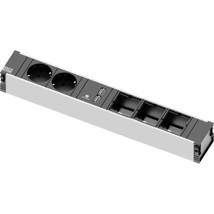 9120168-indendors-2ac-outlets-sort-graa-stikdaase-stromskinne