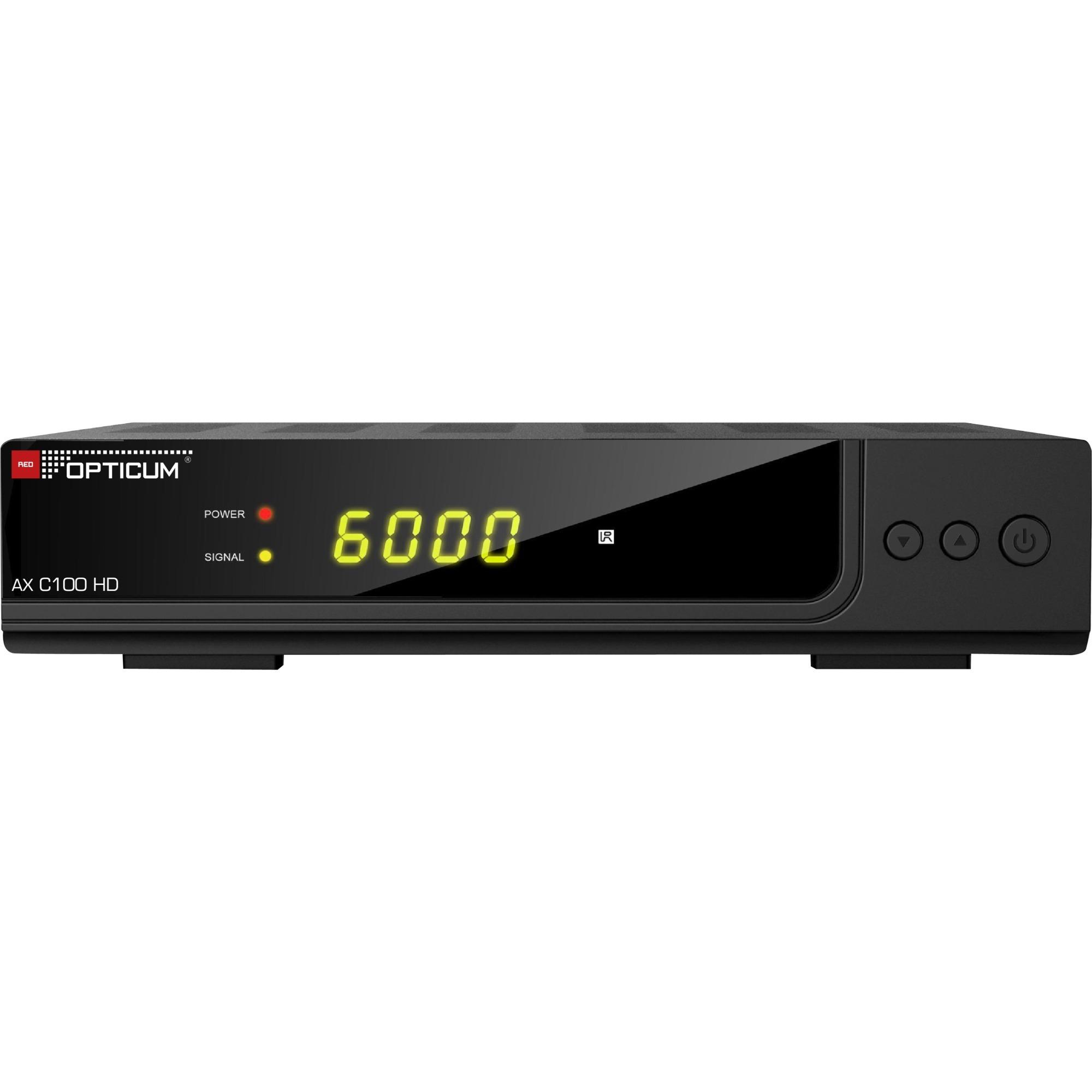 C100 HD PVR, Kabel-modtager
