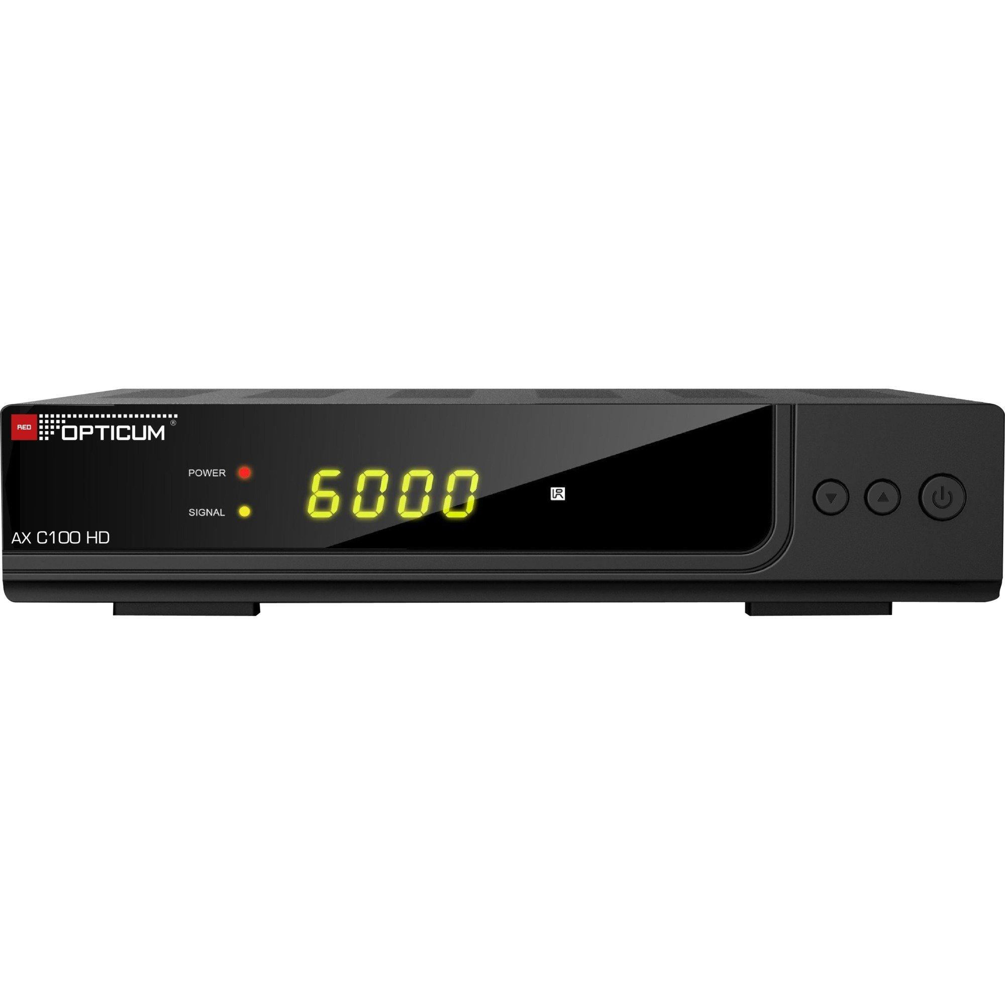 C100 HD, Kabel-modtager