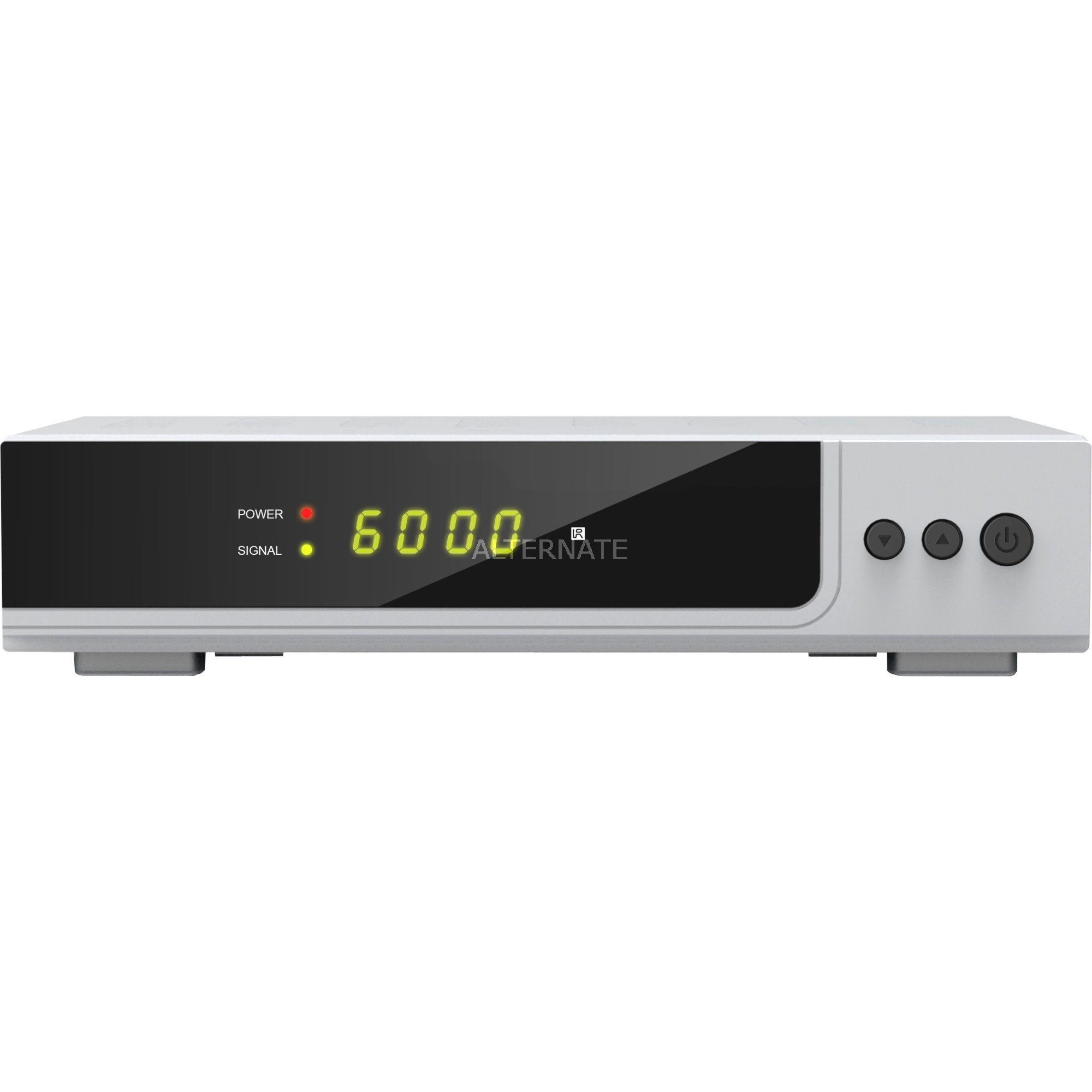HD X300s Ledning Fuld HD Sølv TV set-top boks, Satellit-modtager