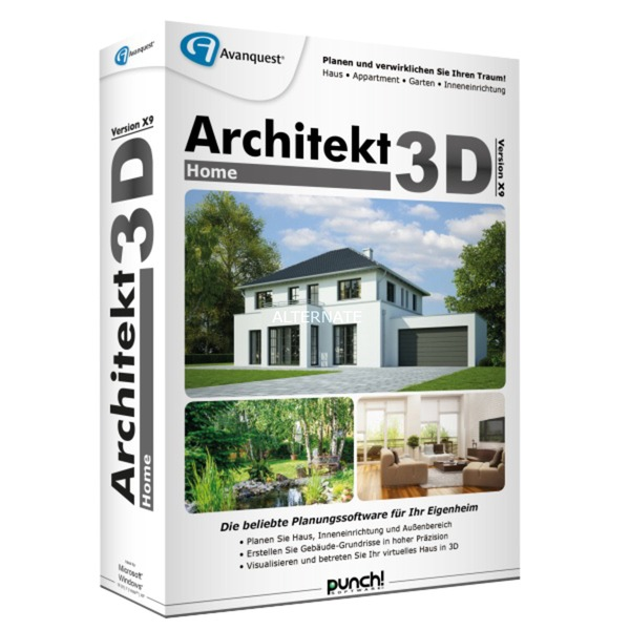 architekt-3d-x9-home