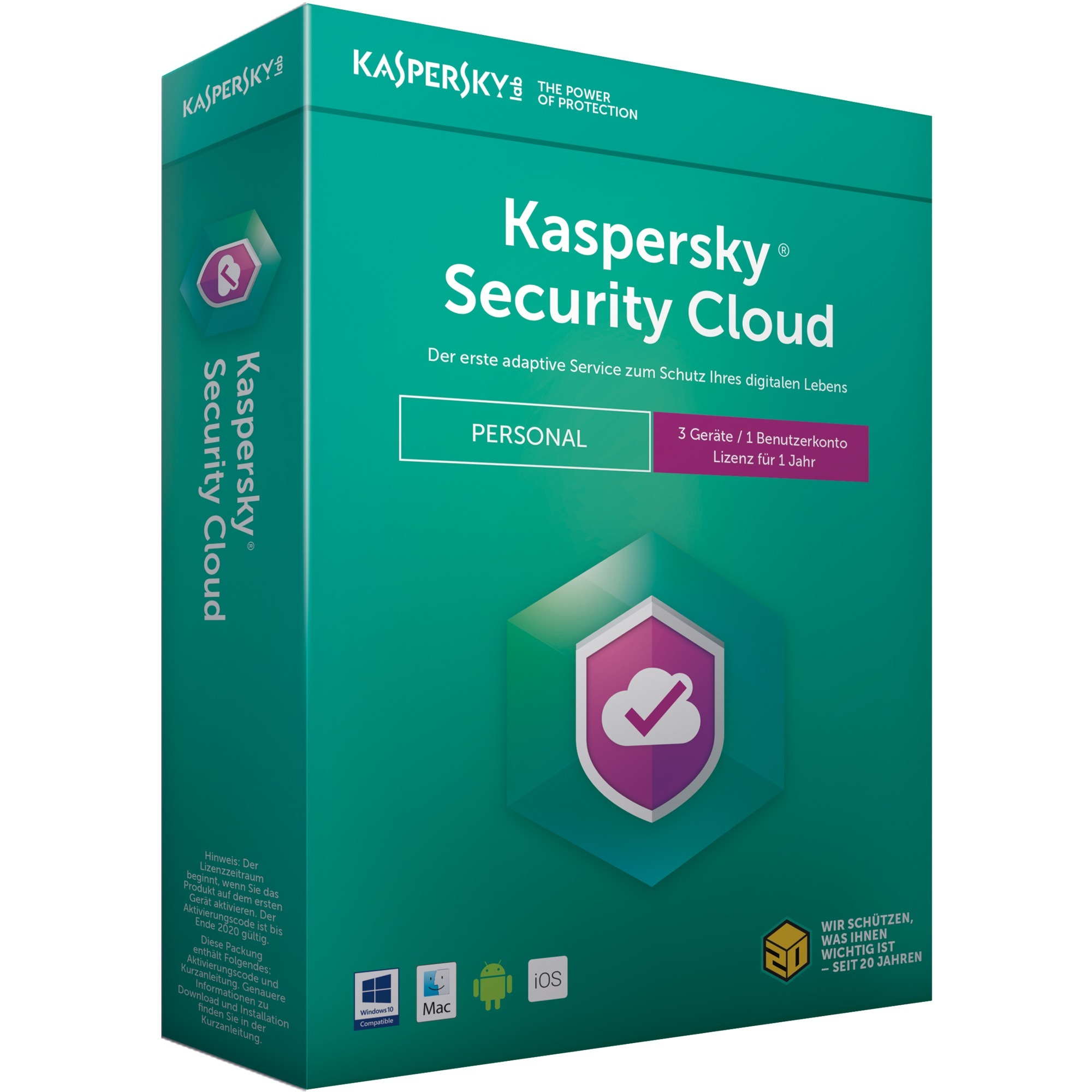 security-cloud-personal-edition-3brugere-1aar-full-license-tysk-software